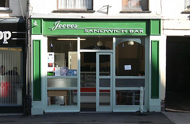 Jeeves Sandwich Bar